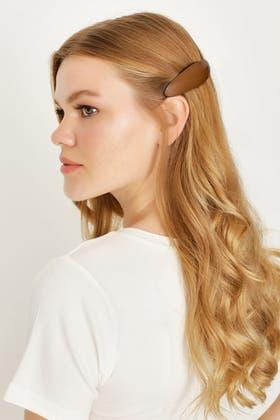 BROWN BARRETTES HAIR CLIPS