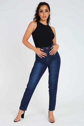 DENIM Mid Rise Skinny Jeans