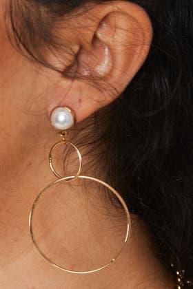 GOLD Hollow Hoop Earrings