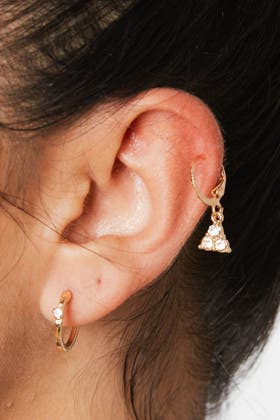 GOLD Mix And Match Earring Set