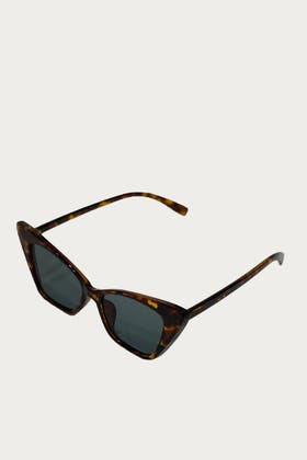 LEOPARD Acrylic Cat Eyes Sunglasses