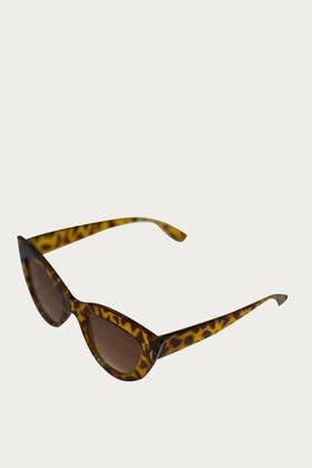 LEOPARD Acrylic Deep Cat Eyes Sunglasses