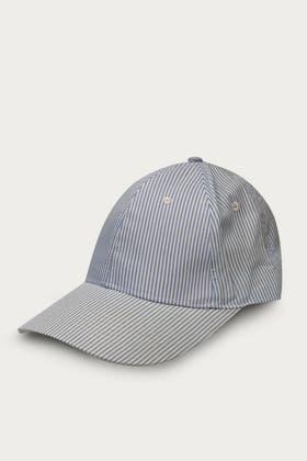 LIGHT BLUE STRIPE CAP