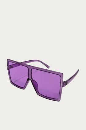 LILAC Square Frame Sunglasses