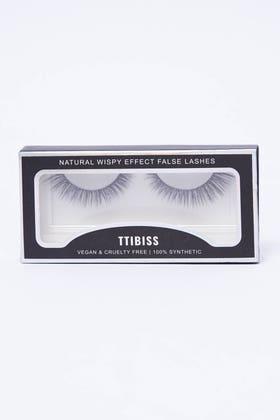 BLACK Wispy effect false lashes