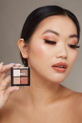 BROWN 4 colors Eyeshadow Palette