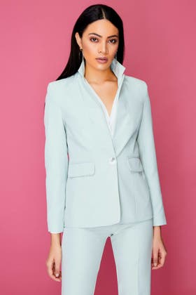MINT TAILORED SINGLE BREASTED JACKET