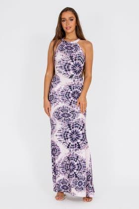 MONO Chain Print Sleeveless Maxi Dress