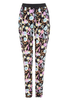 MULTI BRIGHT TROPICAL SOFT TROUSERS