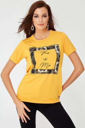 MUSTARD THIS IS ME TEE