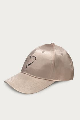 NUDE SATIN CAP