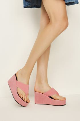 PINK Sandal Wedges