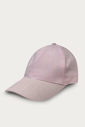 PINK STRIPE CAP