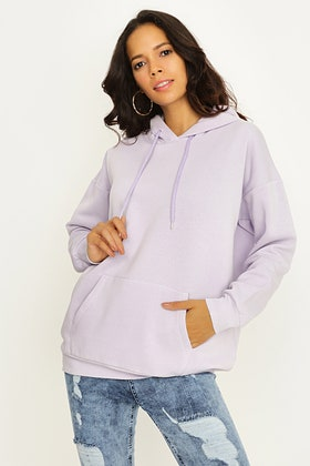 LILAC OVERSIZED HOODIE