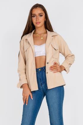 STONE Pocket Shacket Jacket