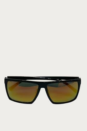 YELLOW Acrylic Slim Frame Sunglasses